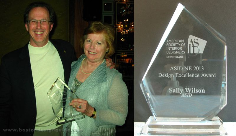 Sally Wilson receives Excellence in Design Award